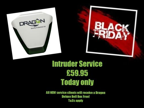 Black Fridat Intruder Alarm Service Deal